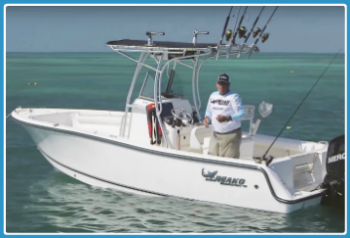 center console walk around fishing FR 350-238